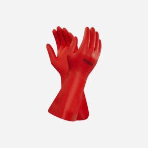 Red Pvc Long Arm